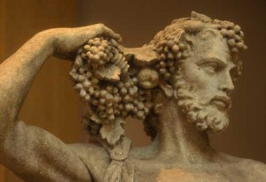Bacchus Roman God of Wine
