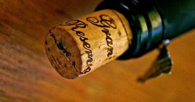 Wine Cork in Bottle