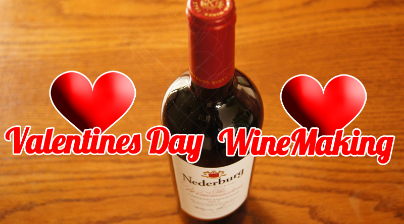 Valentines Day Wine Making